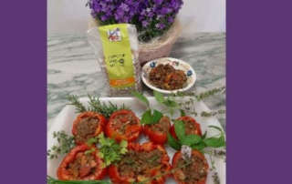 Pomodori ripieni di Lenticchie al profumo di Erbe Speziali